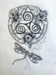 Sacred celtic mandala tattoo design tania marie s blog