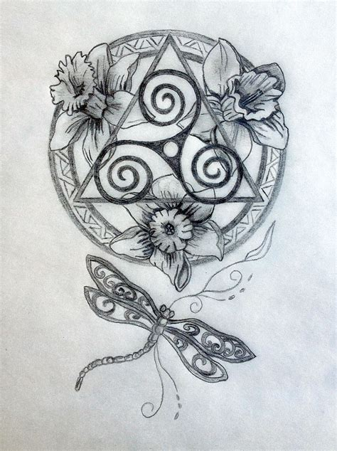 celtic mandala tattoo design tania marie s blog