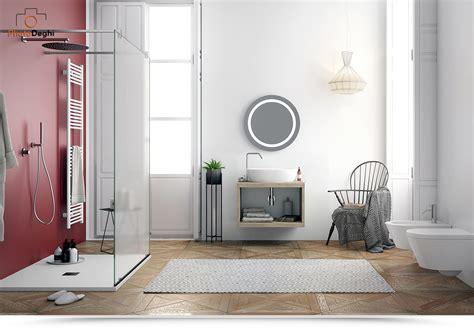 Mobile Per Lavabo Appoggio by Mobile Salvaspazio Sospeso Di Design 60 Cm Per Lavabo D