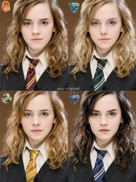 what house is hermione in hermione granger in the different houses i love slytherin harry potter