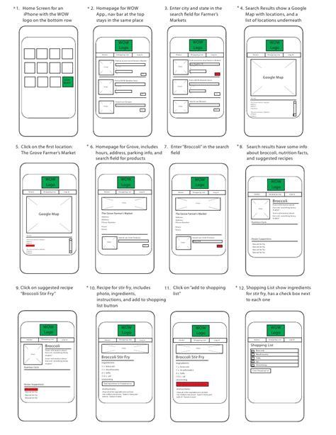 storyboard template app app storyboard