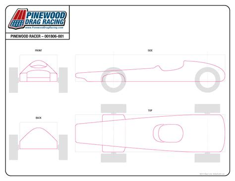 free pinewood derby template by sin customs 001806