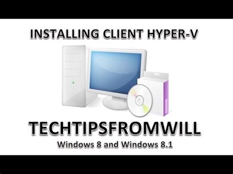 installing yosemite in hyper v installing the client hyper v feature on windows 8 and