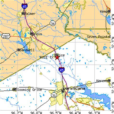rice texas map rice texas tx population data races housing economy