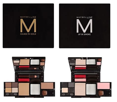 Lipstick Palette Maybelline makeup review swatches maybelline up in smoke eye kit