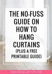 How Do I Hang Curtains the no fuss guide on how to hang curtains