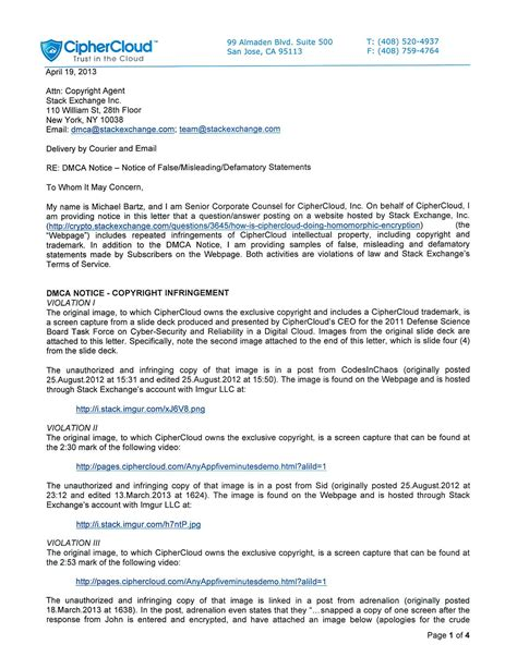 dmca notice template what is a dmca takedown notice dmca notice template sle