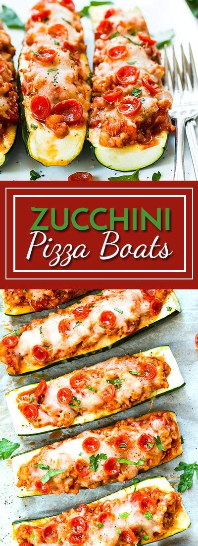 large zucchini pizza boats pizza zucchini boats with pepperoni and sausage low carb