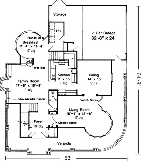 victorian country style 5809 4 bedrooms and 2 baths victorian style house plans plan 58 265