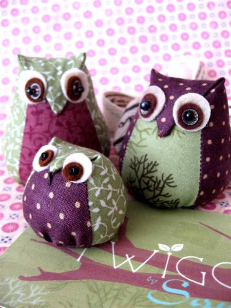 Japanese Owl Pattern | sewn owl tutorial we make owls like these but really tiny