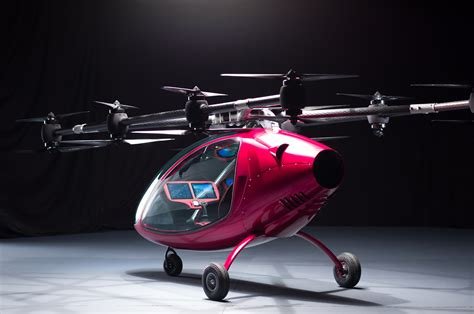 gelecegin taksi dronu passenger drone teknolsun