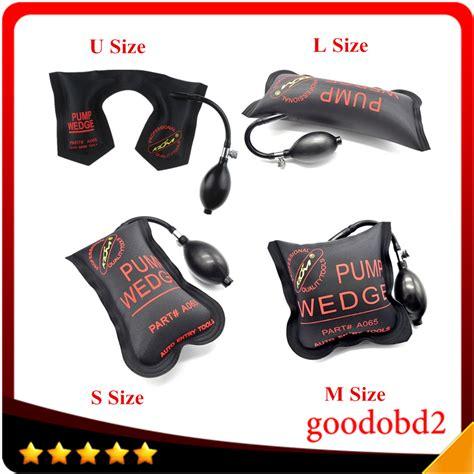 klom pump wedge locksmith tools auto air wedge airbag lock