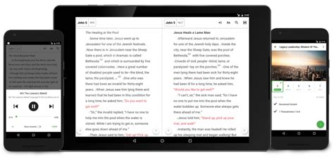 free bible apps for android phones bible app android update audio tablet and offline features youversion