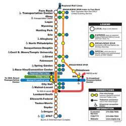 Septa Subway Map by Septa Broad Street Line Map