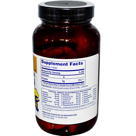 protein tablets twinlab lpp concentrated predigested protein 1000 mg