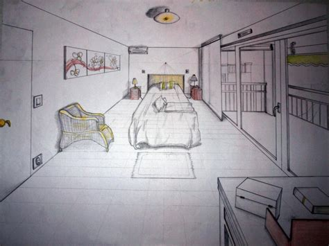 chambre en perspective dessin stunning dessin chambre perspective pictures ridgewayng