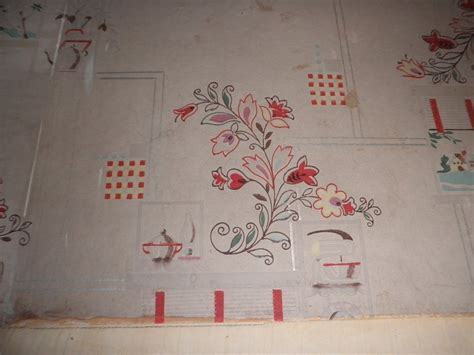 our sears kit home vintage kitchen wallpaper