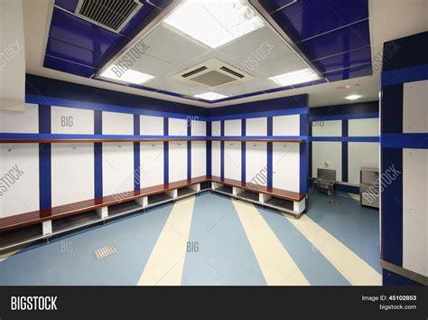 big locker room madrid march 8 empty locker room image photo bigstock