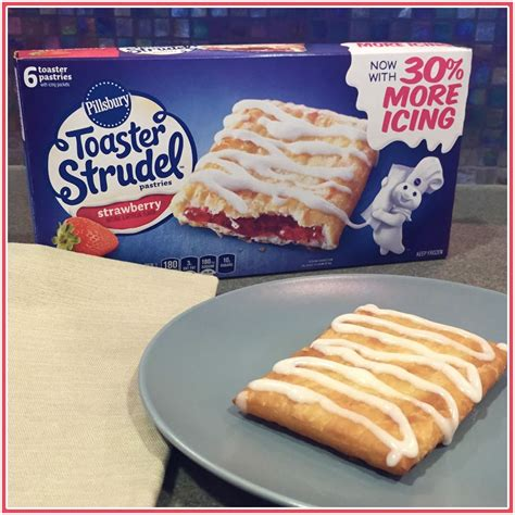 How Many Toaster Strudels Come In A Box toaster strudel has more icing a taste of general mills