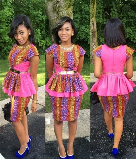 Latest Fashion Skirt And Blouse Ankara Styles | beautiful ankara skirt and blouse style dezango fashion zone