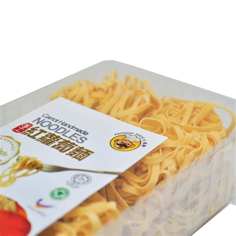 Handmade Noodles - kitchener brand carrot handmade noodle 250g kanpeki