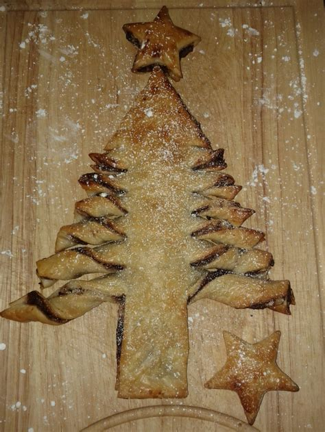 puff pastry christmas tree recipe recipeyum