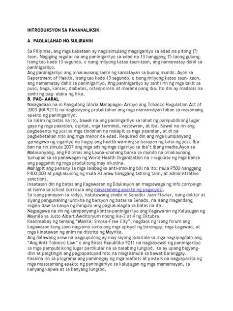 Mga Halimbawa Ng Research Paper Sa 2 by Halimbawa Ng Paksa Sa Thesis Writefiction581 Web Fc2