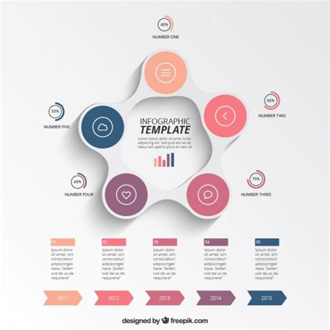 Best 25 Free Infographic Templates Ideas On Pinterest Free Powerpoint Infographic Template