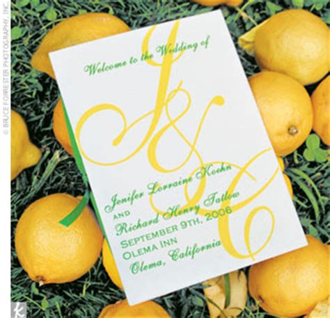 lemon and lime themed wedding invitations wedding blogs lemon lime inspiration