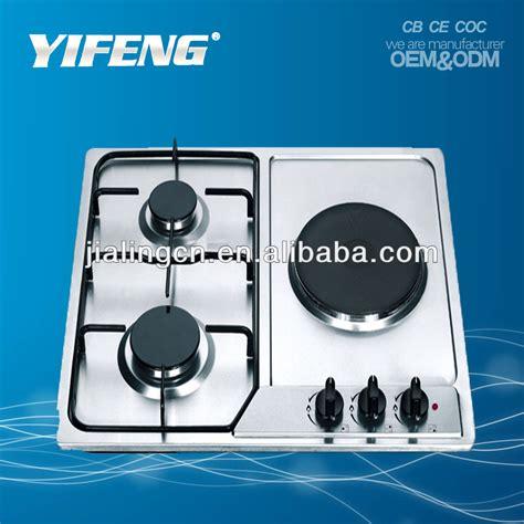 Lihat Kompor Listrik peralatan dapur kaca tempered kompor listrik 3 burner