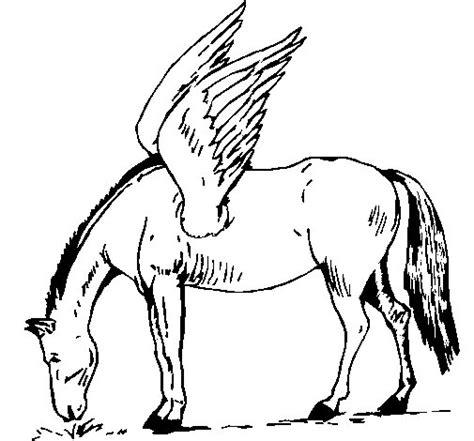 imagenes de unicornios y pegasos para colorear coloriage de p 233 gase pour colorier coloritou com