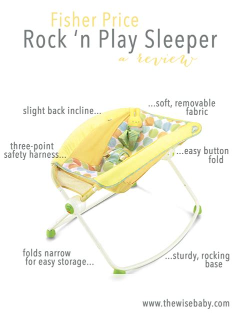 fisher price rock n play sleeper review the wise baby