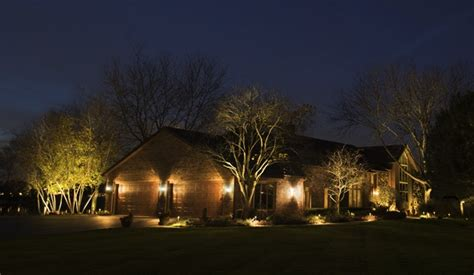 landscape well lights outdoor lighting ryco landscaping