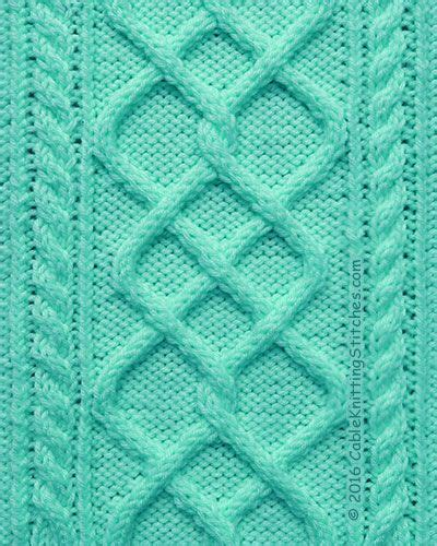 cable stitch knitting meer dan 1000 idee 235 n cable knitting patterns op