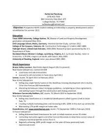 28 resume templates for internship students