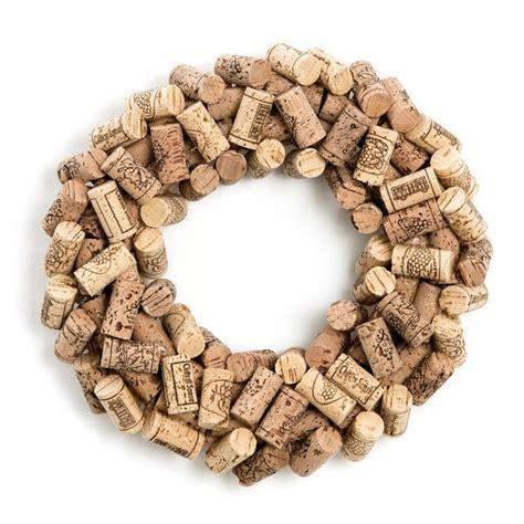 wine cork crafts for the holidays