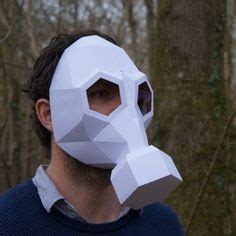 Gas Mask Papercraft - army of two mask salem txt1 paper it s free