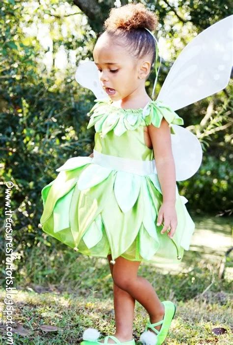 Handmade Tinkerbell Costume - 30 cool pan and tinkerbell costumes diy