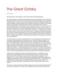 The Great Essays by College Essays College Application Essays Essay Questions On The Great Gatsby