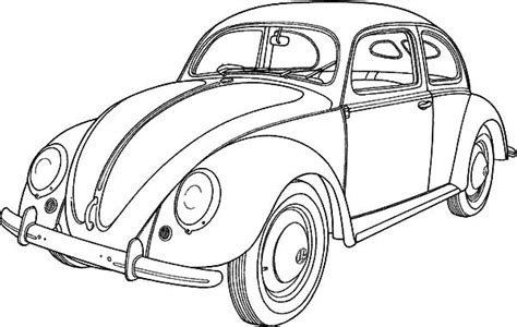 coloring pictures of vintage cars classic car collector beetle car coloring pages best