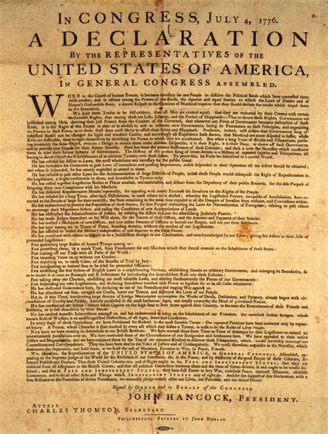 full text of spanish english and english spanish the declaration of independence full text in english and
