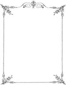 fancy border template 12 page border designs images page
