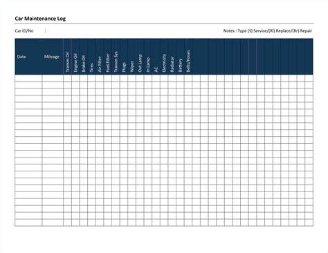 Maintenance Tracking Spreadsheet by Fleet Maintenance Tracking Spreadsheet Buff