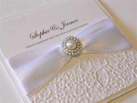 Luxury Handmade Wedding Invitations - luxury handmade wedding invitation florence x 1 sle