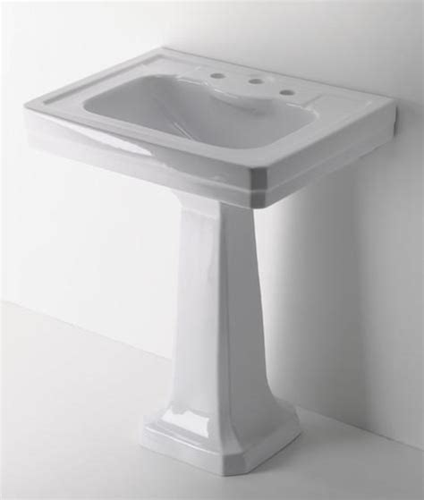 easy pieces traditional pedestal sinks remodelista