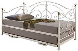Daybed Ausziehbar Birlea 3ft Single Metal Daybed With Trundle