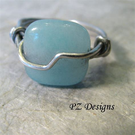 Handmade Ring Designs - silver serpent studio s diy simple wire wrapped