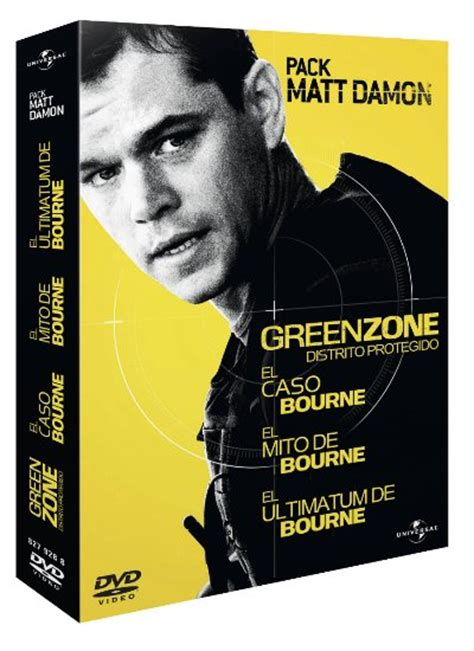 el caso bourne trilogia pack matt damon trilog 237 a de bourne green zone distrito