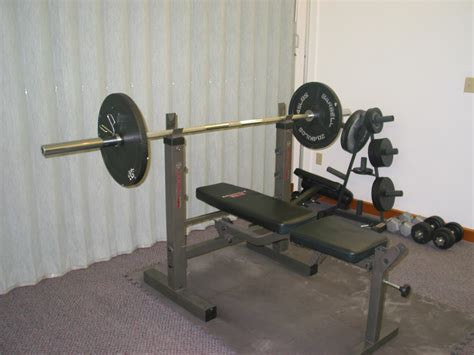 weights for a weight bench choosing a weight bench for home gyms mikey s fitness