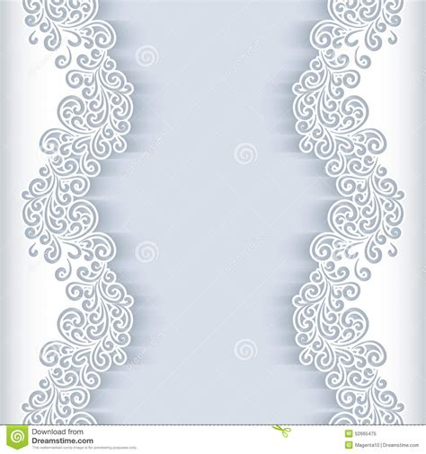 White Paper Background Stock Vector Illustration Of Decor 52665475 Wedding Paper Templates